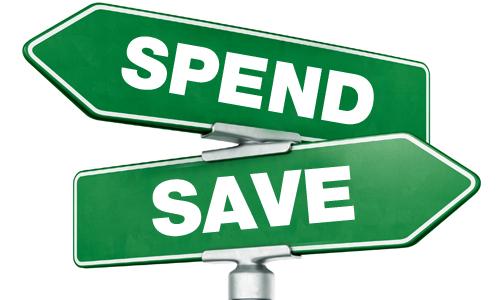 Saving Versus Living